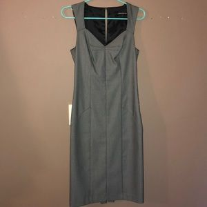 Gray women's dress
